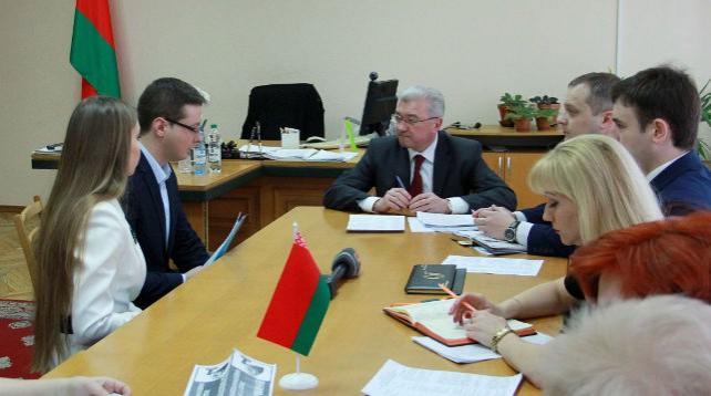 Малашко провел личный прием граждан в Совете Министров