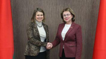Щеткина встретилась с послом Великобритании