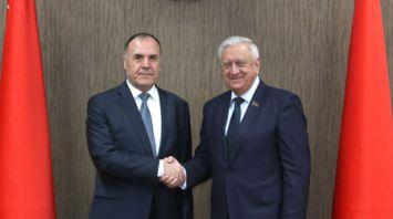 Мясникович встретился с послом Таджикистана