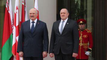Встреча Лукашенко и Маргвелашвили проходит в Тбилиси
