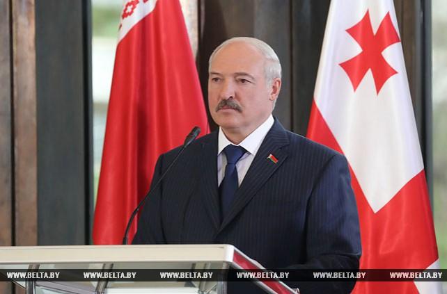 Лукашенко: Беларусь всегда будет открыта для сотрудничества с Грузией