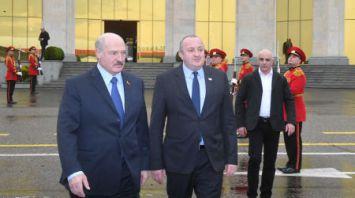 Завершился официальный визит Лукашенко в Грузию