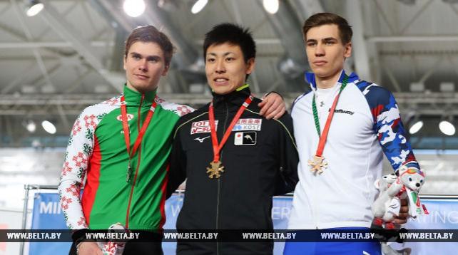 ЧМ по конькобежному спорту среди студентов прошел в Минске