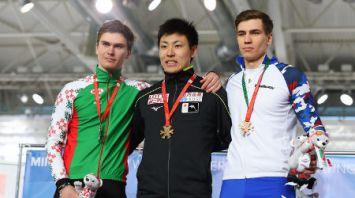 ЧМ по конькобежному спорту среди студентов проходит в Минске