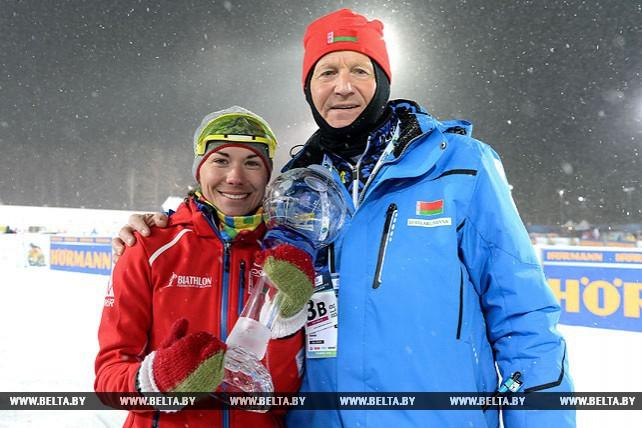 Скардино завоевала Малый Хрустальный глобус в зачете индивидуальных гонок Кубка мира биатлону