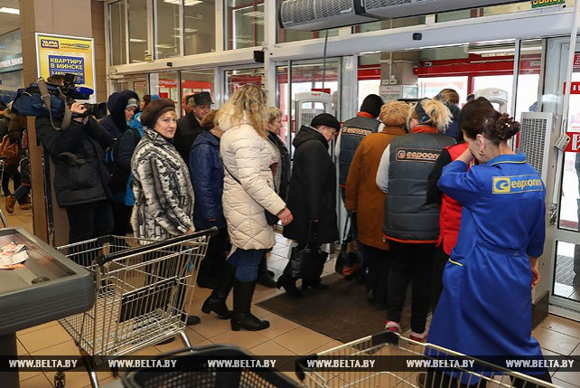 МЧС проводит учебные эвакуации в торговых центрах Минска
