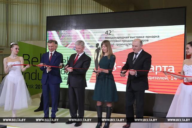 Выставка-ярмарка BelTexIndustry проходит в Минске