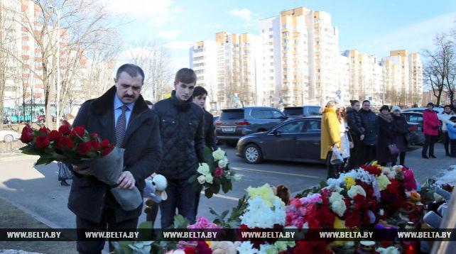 Виктор Лукашенко о трагедии в Кемерово: мы скорбим вместе с россиянами