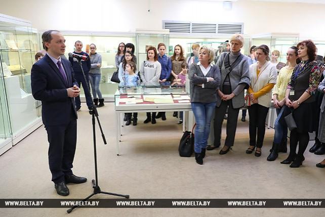"""Выставка """"Белорусский букварь: 400 лет истории"""" открылась в Минске"""