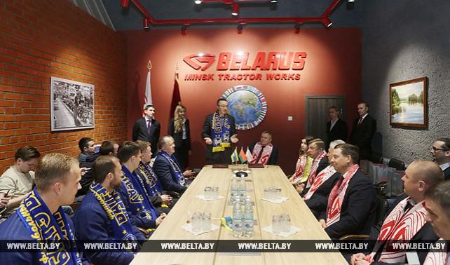 Футболисты БАТЭ вступают в сезон с новым спонсором - Минским тракторным заводом