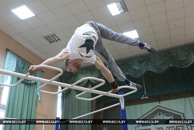 Международный турнир по воркауту прошел в Минске