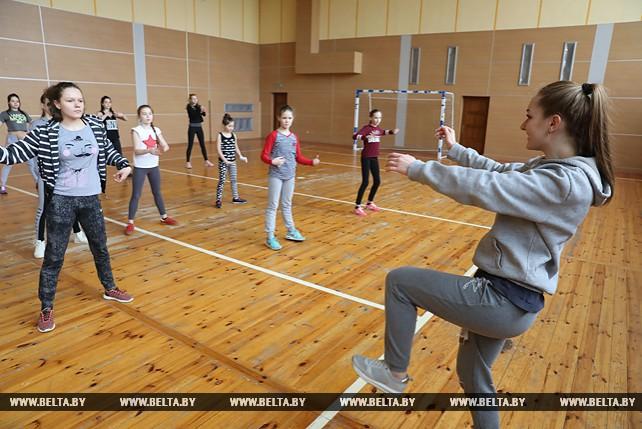 Мастер-класс хореографа Ангелины Бибневой прошел в Витебске