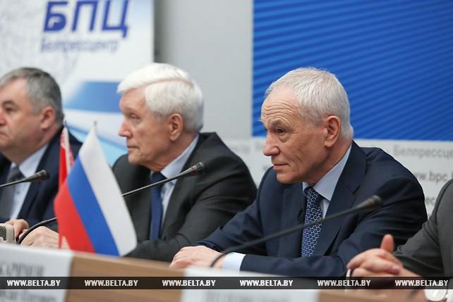 Пресс-конференция ко Дню единения народов Беларуси и России прошла в Минске