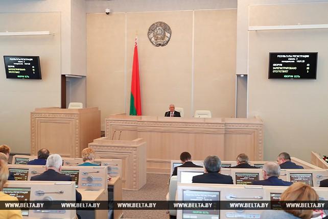 Открытие весенней сессии Совета Республики состоялось в Минске