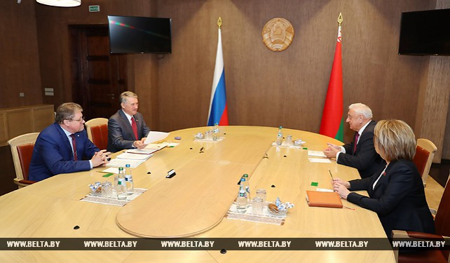 Мясникович встретился с заместителем председателя Совета Федерации