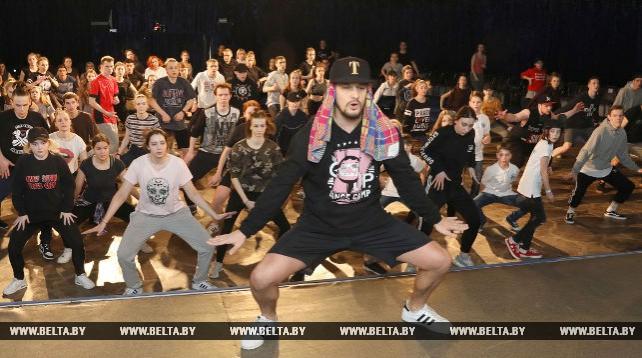 Мастер-класс хореографа Александра Натарова прошел в Витебске