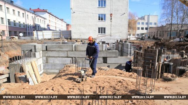 Корпус для установки МРТ начали строить в Могилевской больнице скорой помощи
