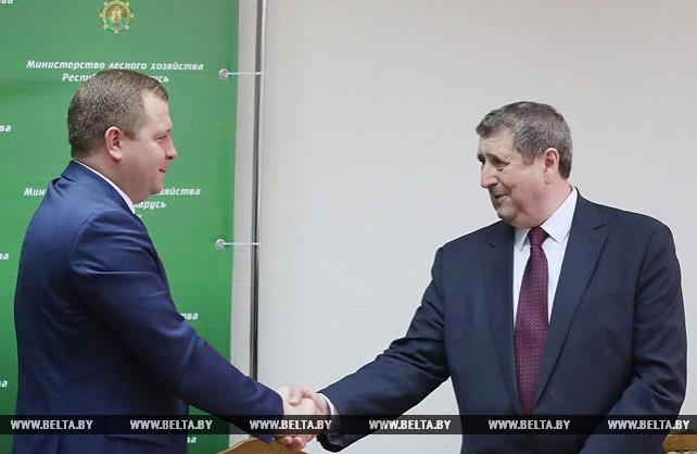 Михаил Русый представил коллективу Министерства лесного хозяйства нового руководителя
