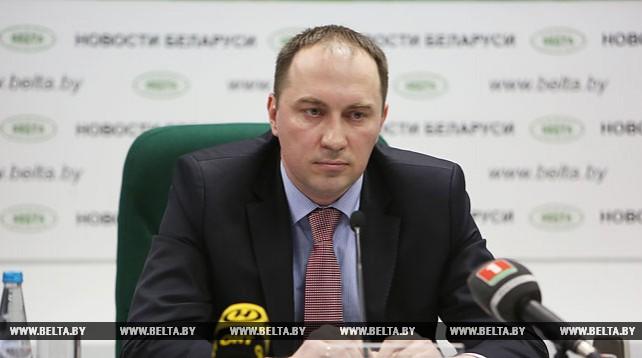 """Брифинг """"О применении новых положений и реализации норм декрета №1"""" состоялся в пресс-центре БЕЛТА"""