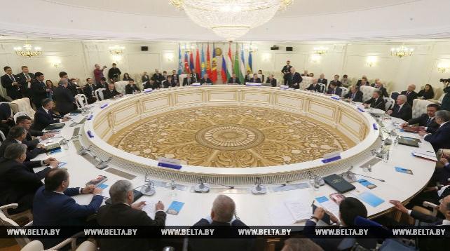 Заседание СМИД СНГ в Минске в расширенном составе