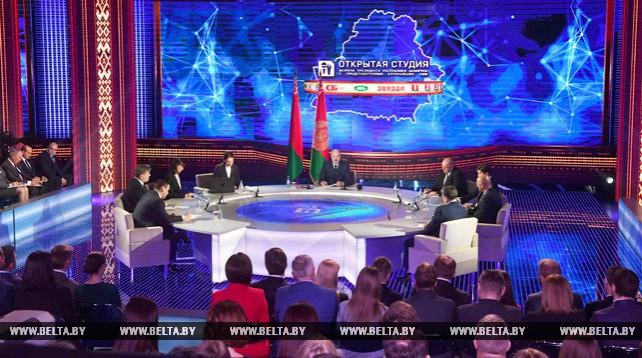 Лукашенко встретился с руководителями и коллективами крупнейших государственных СМИ