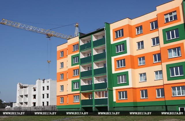 60 молодых семей из Житковичей к концу года станут новоселами