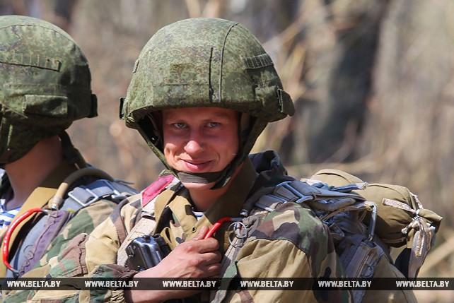 Совместное учение десантников Беларуси и России проходит под Брестом