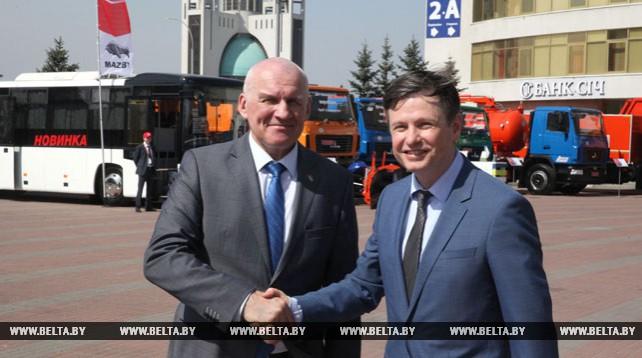 Украина заинтересована в расширении ассортимента импортируемых белорусских товаров