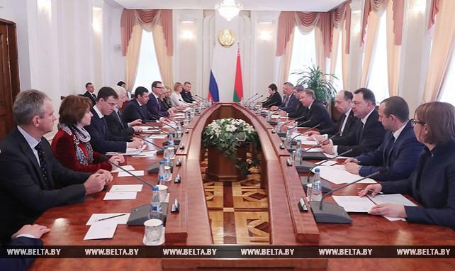 Кобяков встретился с губернатором Ярославской области