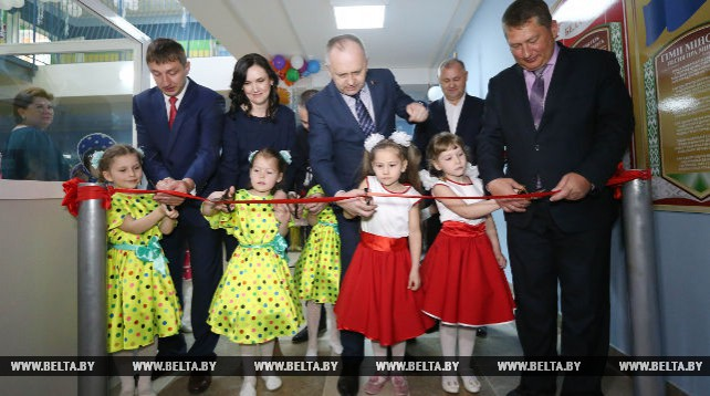 Новое дошкольное учреждение открылось во Фрунзенском районе Минска