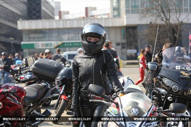 Мотосезон-2018 открылся в Минске
