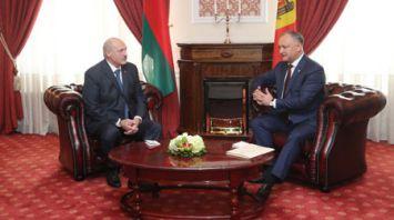 Александр Лукашенко провел переговоры в узком составе с Игорем Додоном