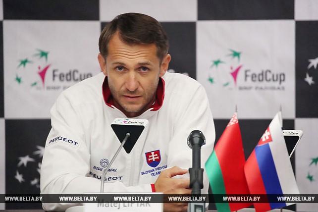 Проблемы со здоровьем помешали лидерам сборной Словакии сыграть с белорусскими теннисистками