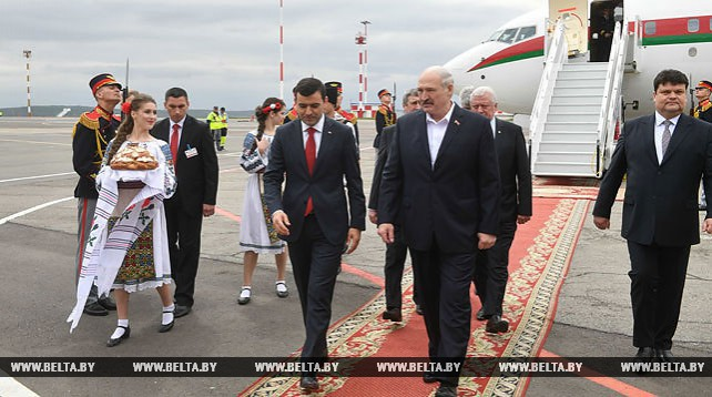 Лукашенко прибыл с официальным визитом в Молдову