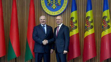 Лукашенко встретился с премьер-министром Молдовы