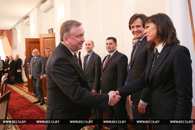 Кобяков встретился с Советом руководителей государственных информационных агентств СНГ