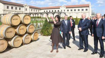 Премьер Молдовы провел экскурсию для Лукашенко по замку известного винодела Мими