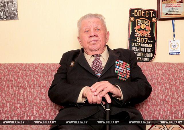 Ветеран Великой Отечественной войны Александр Архипов