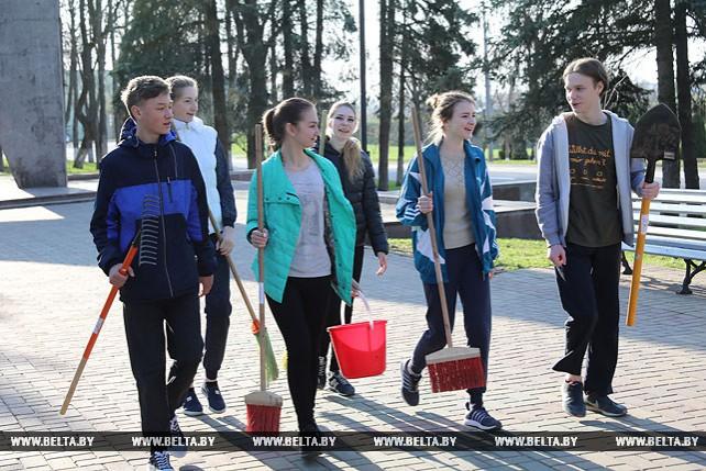 Республиканский субботник проходит в Беларуси