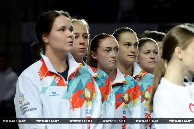 Белорусские теннисистки вышли вперед в матче Кубка Федерации со Словакией