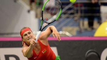 Соболенко уступила Кужмовой в матче Кубка Федерации Беларусь - Словакия