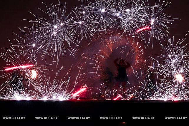 Фестиваль огня прошел в Бресте