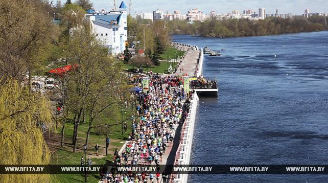 """""""Экомарафон"""" собрал в Гомеле более 3 тыс. участников"""