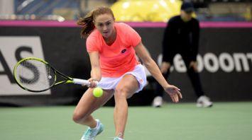 Кужмова победила Саснович в матче Кубка Федерации