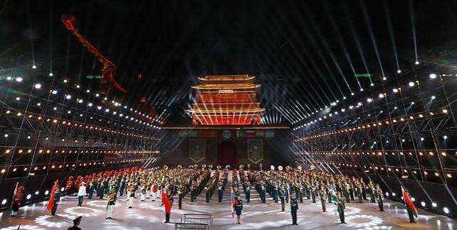 Фестиваль военных оркестров стран ШОС открылся в Пекине