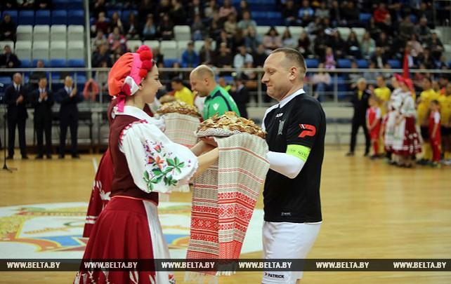 Международный турнир по мини-футболу среди сотрудников следственных комитетов проходит в Минске