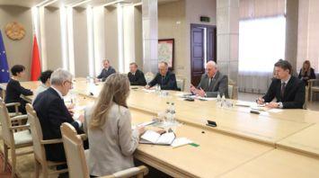 Директор Конгресса местных и региональных властей СЕ провел переговоры в Совете Республики