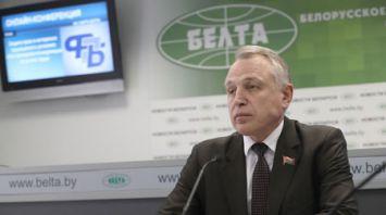 Михаил Орда провел онлайн-конференцию в пресс-центре БЕЛТА
