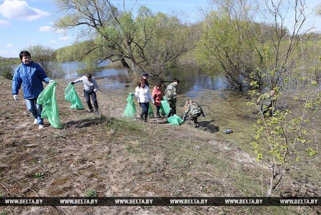 """Республиканская акция """"Чистый водоем"""" проходит в Гомельском районе"""