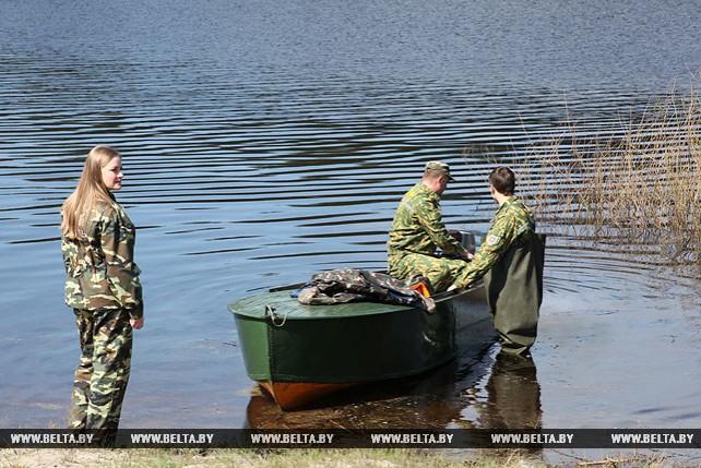 Мониторинг водоохранных зон и прибрежных территорий идет в Гомельской области